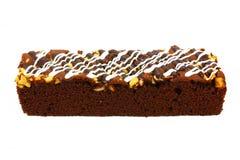 Brownie delicioso Fotografía de archivo
