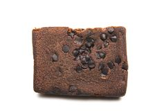 Brownie do chocolate Fotografia de Stock