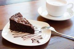 Brownie do chocolate foto de stock royalty free