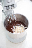 Brownie dough Stock Photography