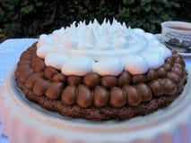 Brownie dulce Foto de archivo