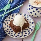 Brownie een La-wijze Stock Foto's