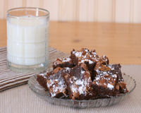 Brownie Galore Fotografia Stock