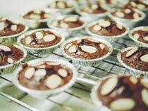 'brownie' minuscule fait maison Images libres de droits