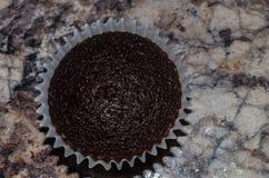 Brownie oscuro rico del chocolate Fotos de archivo libres de regalías