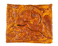 Brownie with pumpkin Royalty Free Stock Photography