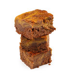 Brownie with pumpkin Royalty Free Stock Photos