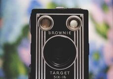 Brownie Target Six 16  Stock Images