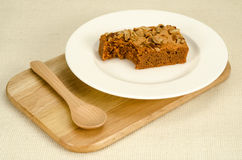 Brownie tea flavor Royalty Free Stock Photography