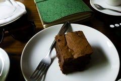 BROWNIE Y TRABAJO, LIA del  de BRASà - 23 de diciembre de 2016: marrón delicioso Foto de archivo libre de regalías