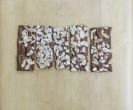 Browniecrackers Stock Foto's