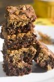 brownies ζύμη μπισκότων Στοκ Εικόνες