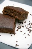 brownies σοκολάτα στοκ φωτογραφία