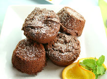 brownies σοκολάτα Στοκ φωτογραφία με δικαίωμα ελεύθερης χρήσης