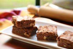 brownies σπιτικός Στοκ Εικόνες