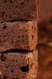 brownies σύνολο πλαισίων σοκο&lamb Στοκ Εικόνες