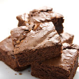 Brownies Fotografia de Stock Royalty Free