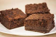Brownies Stock Afbeelding
