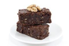 Brownies Imagens de Stock Royalty Free