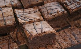 Brownies foto de stock royalty free