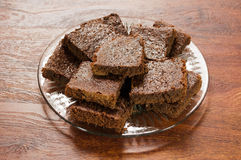 Brownies 2 Stock Afbeelding