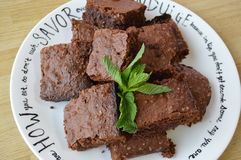 brownies Stockfotos