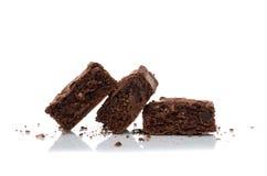 brownies imagens de stock