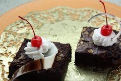 Brownies cake Stock Photo