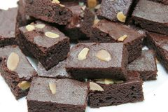 Brownies cake Stock Photography