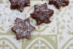 Brownies deliciosas Fotos de Stock Royalty Free