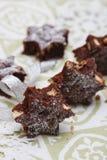 Brownies deliciosas Imagens de Stock