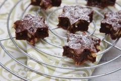 Brownies deliciosas Imagens de Stock Royalty Free