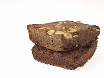 Brownies deliciosas Imagem de Stock Royalty Free