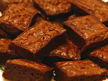 Brownies dessert Stock Photography
