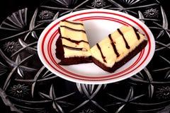 Brownies do chocolate Foto de Stock