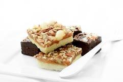 Brownies do chocolate III foto de stock royalty free
