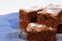Brownies do caramelo fotografia de stock royalty free
