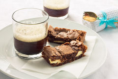 Brownies Fotos de Stock Royalty Free