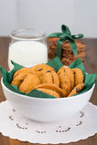Brownies en andere koekjes Stock Foto's