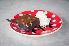 Brownies en Room Stock Foto