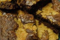 Brownies up close Stock Image