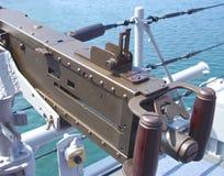 Browning Machine Gun Stock Image