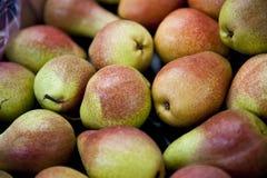 Brownish Green Pears Stock Photo