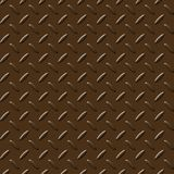 Brownish metal plate Stock Image