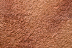 Brownish red stone structure. Brown - red stone structure background, floor Royalty Free Stock Photography