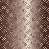 Brownish vector metal plate Royalty Free Stock Photos