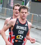 Brownlee bracia, biega Fotografia Stock