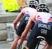 Brownlee bracia, jeździć na rowerze Fotografia Stock