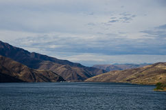 Brownlee Dam Nestled in the Heart of Hells Canyon Royalty Free Stock Photography
