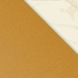 Brownpaper over crumpled white Royalty Free Stock Photo